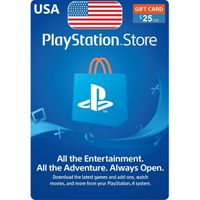 $25 Playstation Store  Gift Card (USA) - Great price!