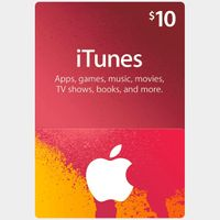 $10 iTunes Gift Card (USA) - Great deal!