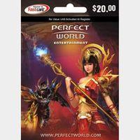 $20 Perfect World Card