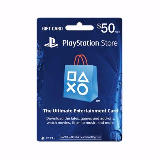 PlayStation Store $50 Gift Card