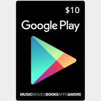 Google Play $10 Gift Card (USA) - Great discount!