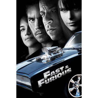 4K UHD Fast & Furious DIGITAL COPY