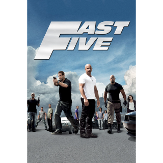 4K UHD Fast Five DIGITAL COPY