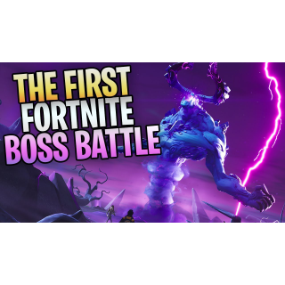 I will kill Storm King BOSS (up to 15 times)