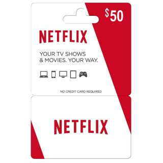 Netflix Giftcard 50$ INSTANT ( USD )