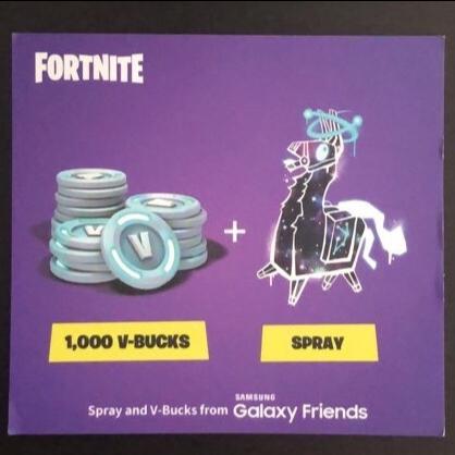 Code Galaxy Llama 1000vbucks In Game Items Gameflip