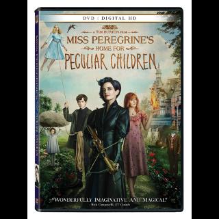 Miss Peregrine's Home for Peculiar Children (VUDU/MA)
