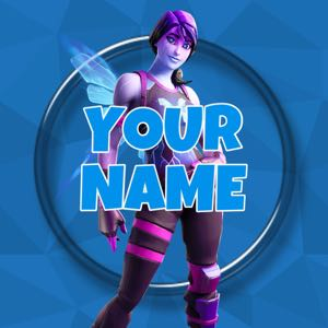 Custom Fortnite Logo HD (ANY SKIN & COLOR)