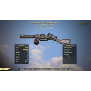 Weapon | Gauss Shotgun