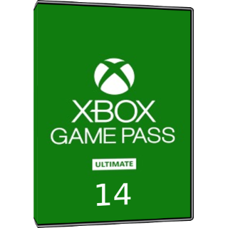 XBOX GAME PASS ULTIMATE 14 DAYS