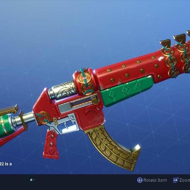 Fortnite Save The World 82 Dragon S Roar Legendary Assault Rifle