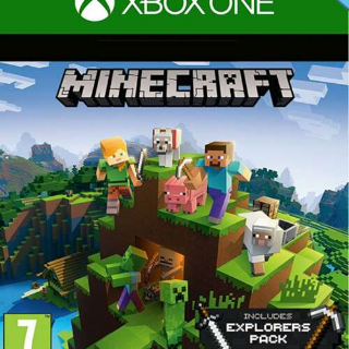 Minecraft Explorers Pack DLC Xbox One