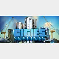 ✅Cities: Skylines steam key + 1DLC