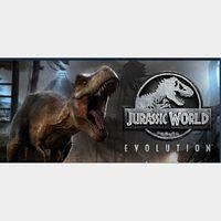✅Jurassic World Evolution Deluxe steam key
