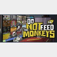 ✅Do Not Feed the Monkeys steam key