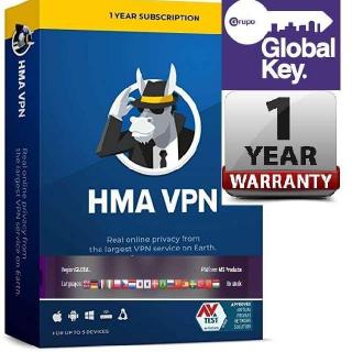 HMA Pro VPN - Unlimited Devices / Hide My Ass VPN
