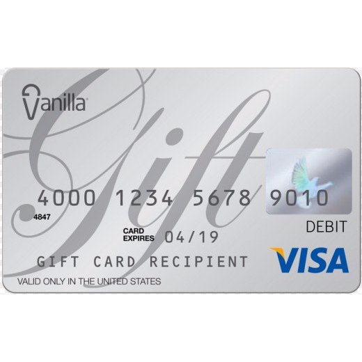 5 onevanilla visa gift card other gift cards gameflip