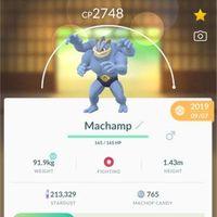 Pokémon Go Machamp