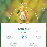 Pokémon Go Dragonite
