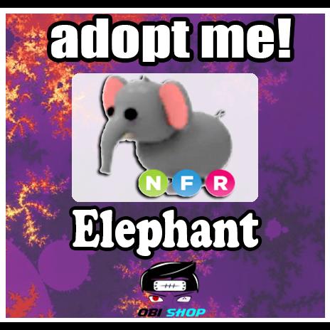Pet | NFR Elephant | Adopt Me