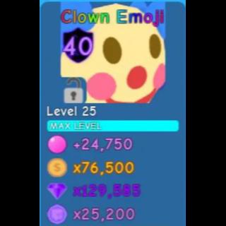 Pet | Clown Emoji | Bgs
