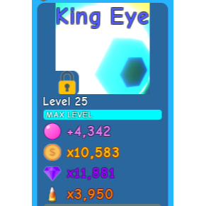 Pet   King Eye - BGS