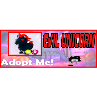 Other | Adopt Me Neon Evil Uni