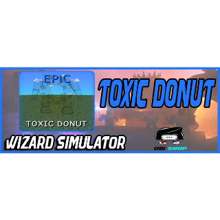 Pet | Wizard Sim Toxic Donut