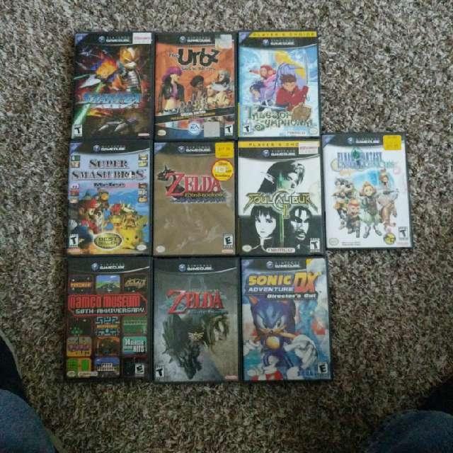 Lot Of Gamecube Games Gamecube Games Good Gameflip