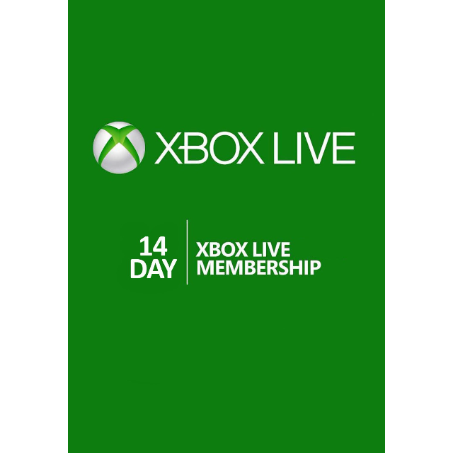 Xbox Live Gold 14 Days Xbox One Trial Code Global