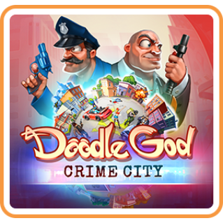 𝐈𝐍𝐒𝐓𝐀𝐍𝐓 - Doodle God: Crime City - SWITCH - NA