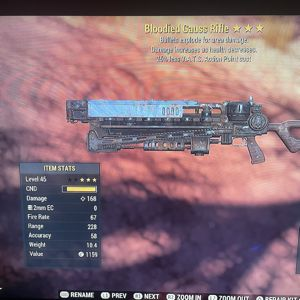 Weapon | BE25VATS gauss rifle