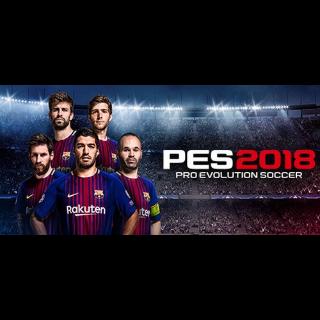 Pro Evolution Soccer 2018 STEAM Instant✅