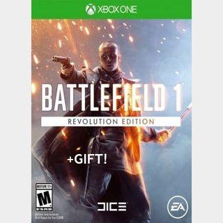 Battlefield 1 Revolution Xbox One + 1943 Instant✅