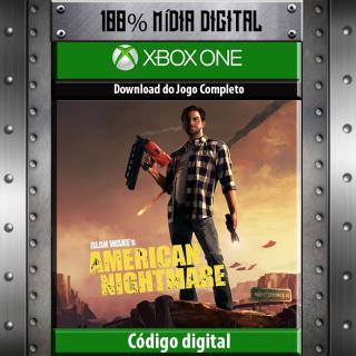 Alan Wake's American Nightmare Xbox One / 360 🔑✅