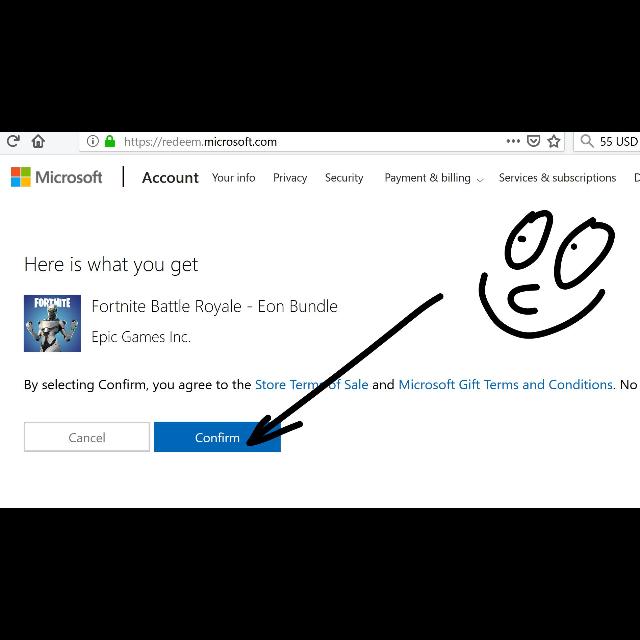 Microsoft redeem code fortnite | Fortnite Frozen Legends Pack Redeem