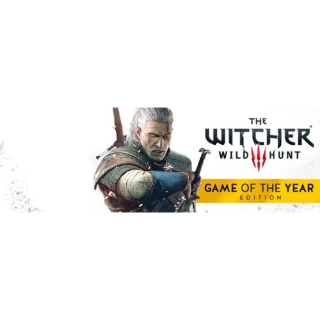 The Witcher 3: Wild Hunt GOTY Game of The Year 🔑✅