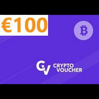 Crypto Voucher Bitcoin 100 EUR Prepaid INSTANT✅
