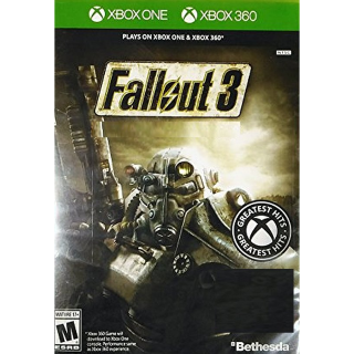 Fallout 3 Xbox 360/Xbox One 🔑✅