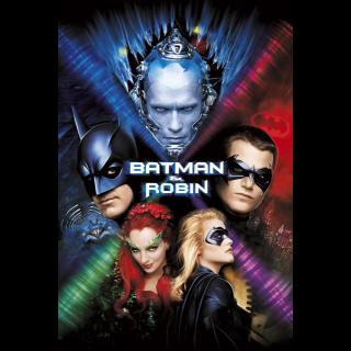 Batman & Robin 4K UHD