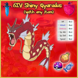 Gyarados | 6IV Shiny Gyarados