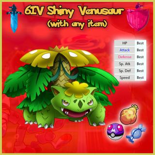 Other | 6IV Shiny GMAX Venusaur