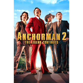 Anchorman 2: The Legend Continues vudu