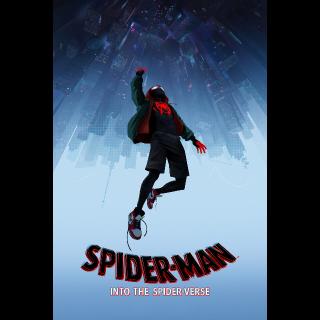 Spider-Man: Into the Spider-Verse from 4k blu