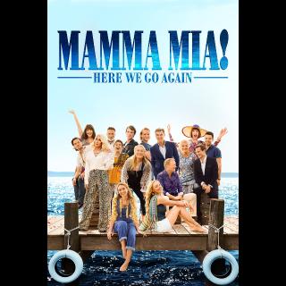 Mamma Mia! Here We Go Again from 4k UHD blu
