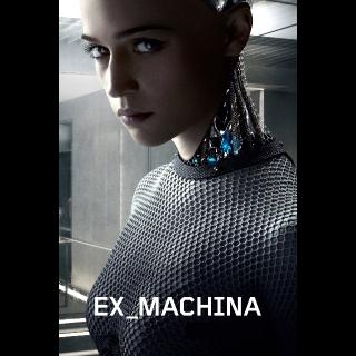 Ex Machina Digital HD from 4k blu