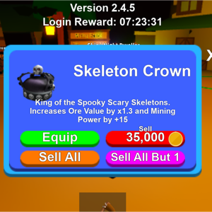 Collectibles | Ms 5x  Skeleton Crown