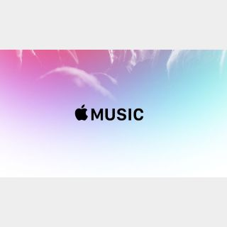 Apple Music Subscription 6 Months