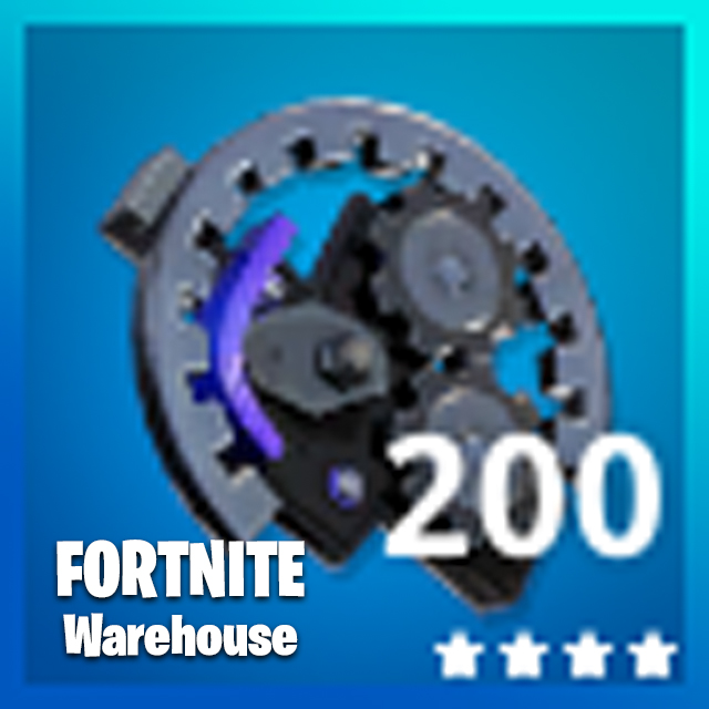 Fortnite 200x Sleek Mechanical Parts Xbox One And Pc Other