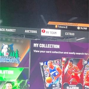 Xbox One NBA 2k20 Myteam MT 10k
